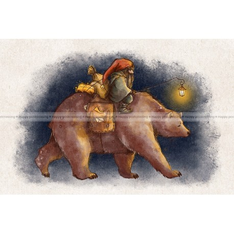 Veera Aro - Gnome and bear
