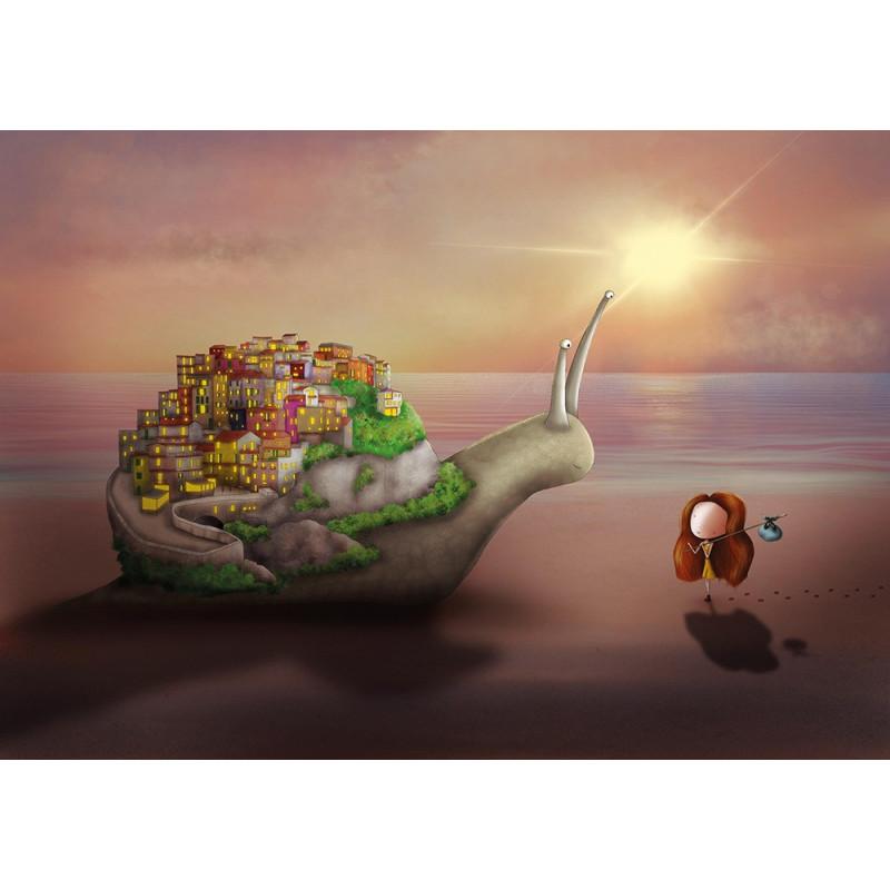 Ila Illustrations - Cinque Terre