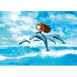 Ila Illustrations - Dolphins