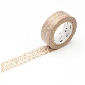 MT Masking Washi tape - Asanoha sinchu