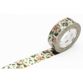 MT Masking Washi tape - Botanical flower
