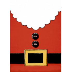 Santa his chest