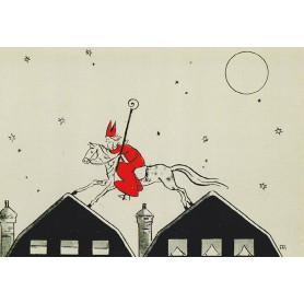 Rood kostuum van Sinterklaas