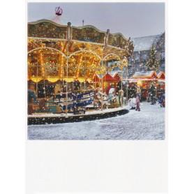 Polacard - Winter draaimolen