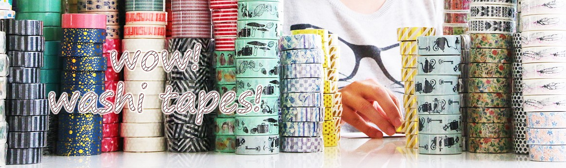 Wow, Washi tapes on Happy Postcrossing!